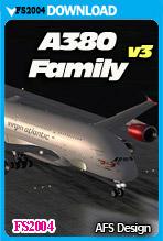 Airbus A380 - Family v3 (FS2004)