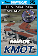 Minot International Airport (KMOT)