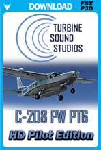 Cessna 208 PW-PT6 Pilot Edition Sound Package