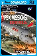FSX Missions - Iberia A321 (FSX/P3D)