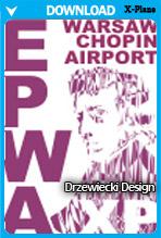 EPWA Warsaw Chopin Airport XP v2 (X-Plane)