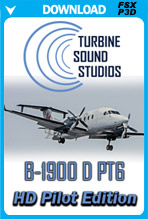 Beechcraft B1900 PT6 HD Pilot Edition Sound Pack
