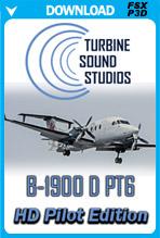 Beechcraft B1900 PT6 HD Pilot Edition Sound Pack