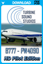 Boeing 777 PW4090 Pilot Edition Sound Pack