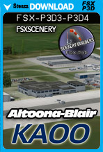 Altoona-Blair County Airport (KAOO)