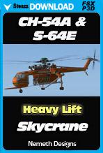 Sikorsky CH-54A Tarhe & Erickson S-64E Aircrane