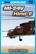 Mi-24V 'Hind E' (FSX/P3D)