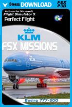FSX Missions KLM B777-300