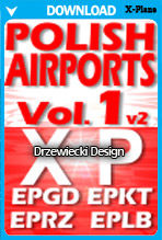 Polish Airports Volume 1 v2 (X-Plane)