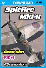 A2A Simulations - Accu-sim Spitfire MkI-II (P3Dv4) ACADEMIC