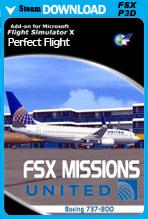 FSX Missions United B737-800