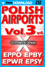 Polish Airports Vol.3 (FSX/P3D/P3D v4)