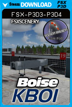 Boise Air Terminal / Gowen Field (KBOI)