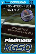 Piedmont Triad International Airport (KGSO)