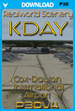 KDAY - James M. Cox - Dayton International Airport