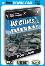 USCitiesX - Indianapolis