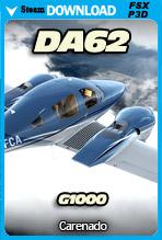 Carenado DA62 G1000 (FSX/P3D)