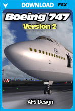 AFS Design - Boeing 747 v2 (FSX)