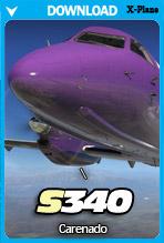 Carenado S340 (X-Plane 11)