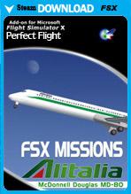 FSX Missions - Alitalia MD-80