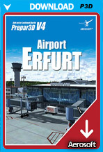 Airport Erfurt for P3D