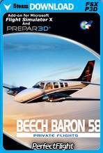 Private Flights - Beech Baron 58