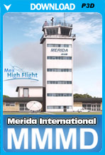 Merida International Airport (MMMD) P3Dv4