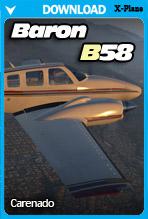 Carenado B58 Baron  (X-Plane 11)