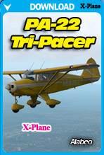 Alabeo PA-22 Tri-Pacer (X-PLANE)