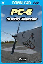 PC-6 Turbo Porter (P3D)