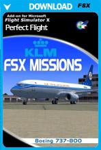 FSX Missions KLM 737-800