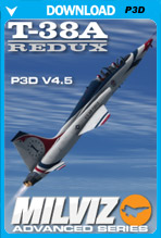 Milviz Advanced Series: T-38A Redux (P3D)