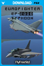 Eurofighter EF-2000 Typhoon V2 (FSX)