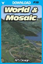 World & Mosaic v4 for (P3D v4)