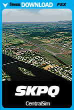 Captain German Olano Moreno Air Base (SKPQ) FSX