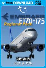 Embraer E170-175 Regional Pack