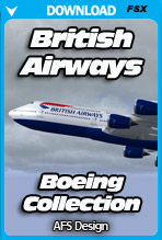 Boeing Collection - British Airways (FSX)