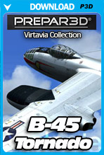 B-45 Tornado (P3D)