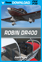 Robin DR400 (P3D/FSX)