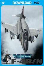 F-4B Phantom II PBR (P3D v4, v5)