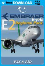 Embraer E-Jets E2 Regional Pack (FSX/P3D)