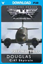 Douglas C-47 Skytrain (P3D 4.4+)