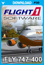 iFly Jets - The 747-400  (P3D)