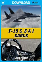 F-15 C, E & I Eagle (P3D v4/v5)