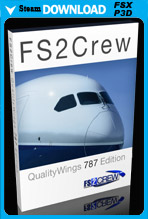 FS2Crew: QualityWings 787 (Voice and Button Control)