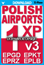 Polish Airports Volume 1 v3 (X-Plane)