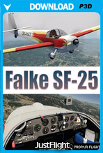 Falke SF-25 (P3D)