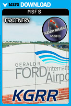 Gerald R Ford International Airport (KGRR) MSFS