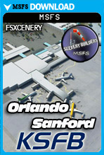 Orlando Sanford International Airport (KSFB) MSFS