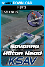 Savannah-Hilton Head International Airport (KSAV) MSFS